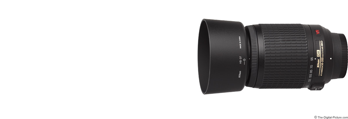 Nikon 55-200mm f/4-5.6G AF-S DX VR Lens
