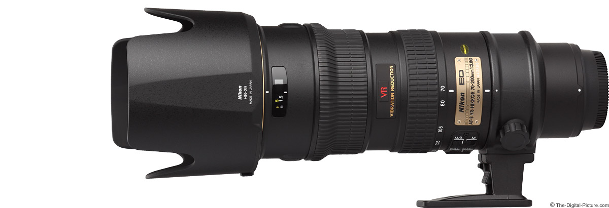 Nikon 70-200mm f/2.8G AF-S VR Lens Product Images