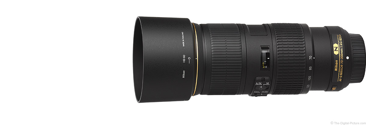 Nikon 70-200mm f/4G AF-S VR Lens Product Images