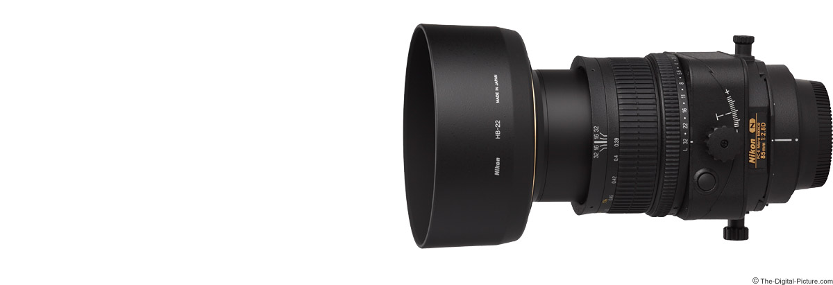 Nikon 85mm f/2.8D PC-E Micro Lens Product Images