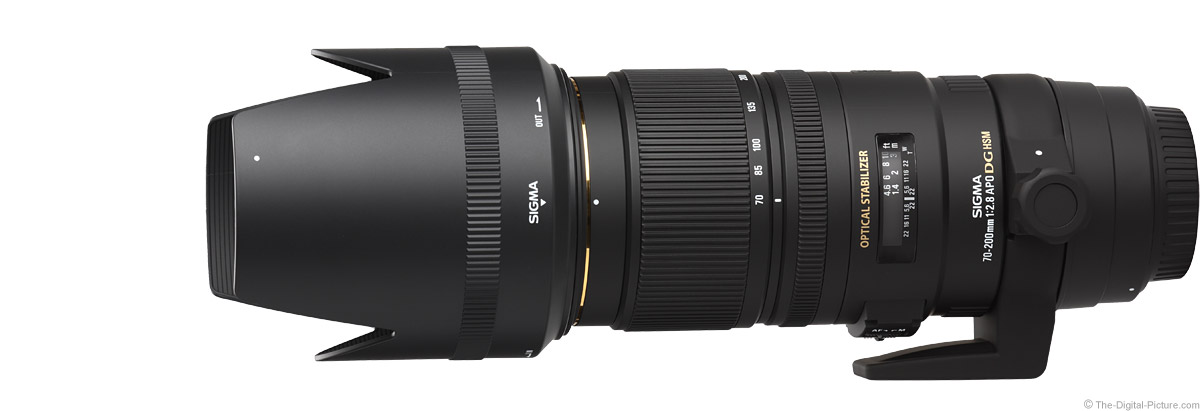 Sigma 70-200mm f/2.8 EX DG OS HSM Lens Product Images