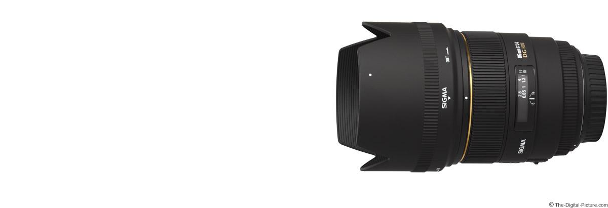 Sigma 85mm f/1.4 EX DG HSM Lens