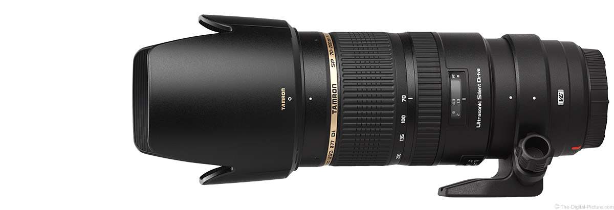 Tamron 70-200mm f/2.8 Di VC USD Lens Product Images