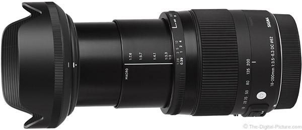 18-200mm F3.5-6.3 DC Macro OS HSM | C | Sigma Corporation of America