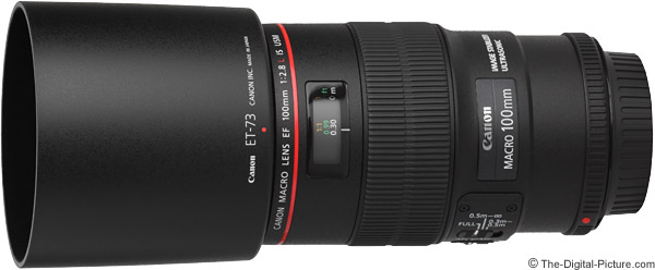 Canon EF 100mm f/2.8 L IS USM Macro Lens Product Images