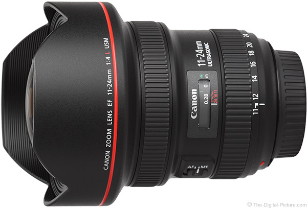 Refurb. Canon EF 11-24mm f/4L USM Lens - $2,399.20 (Compare at $2,899.00 New)