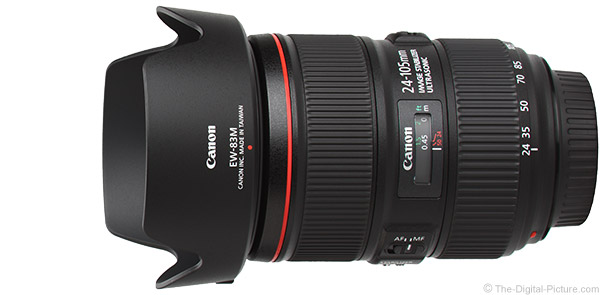 Canon EF 24-105mm f/4L IS II USM Lens Product Images