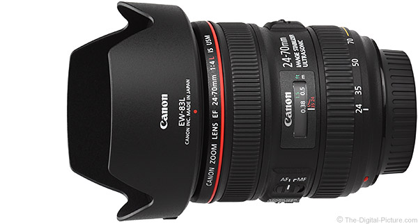 Canon EF 24-70mm f/4 L IS USM Lens Product Images