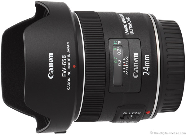 Canon EF 24mm f/2.8 IS USM Lens Product Images