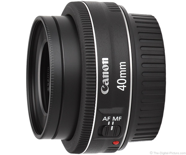 Canon EF 40mm f/2.8 STM Lens Product Images