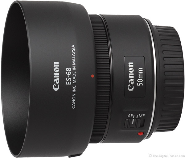Canon EF 50mm f/1.8 STM Lens Product Images