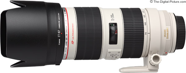 Canon EF 70-200mm f/2.8L IS II USM Lens Product Images