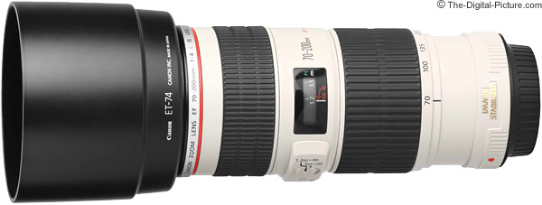 Canon EF 70-200mm f/4L IS USM Lens Product Images