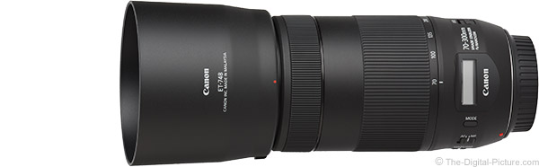 Canon EF 70-300mm f/4-5.6 IS II USM Lens Product Images