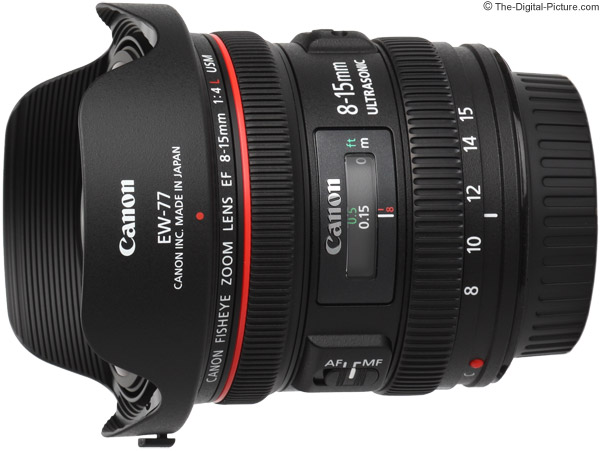 Canon EF 8-15mm f/4L USM Fisheye Lens Product Images