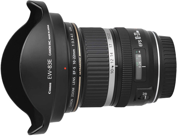 Canon EF-S 10-22mm f/3.5-4.5 USM Lens Product Images