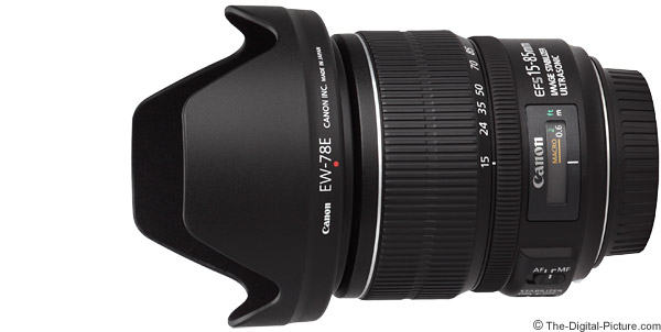 Canon EF-S 15-85mm f/3.5-5.6 IS USM Lens Product Images
