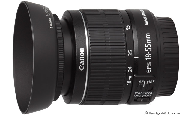 Canon EF-S 18-55mm f/3.5-5.6 IS II Lens Product Images
