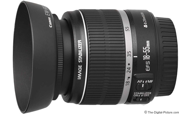 Canon EF-S 18-55mm f/3.5-5.6 IS Lens Product Images