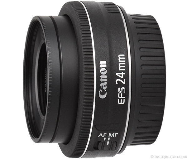 Canon EF-S 24mm f/2.8 STM Lens Product Images