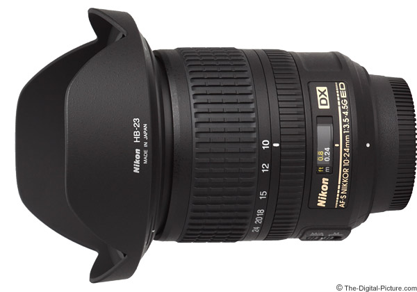 Nikon 10-24mm f/3.5-4.5G AF-S DX Lens Product Images