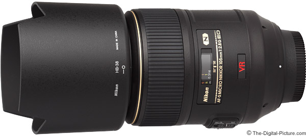 Nikon 105mm f/2.8G AF-S VR Micro Lens Product Images