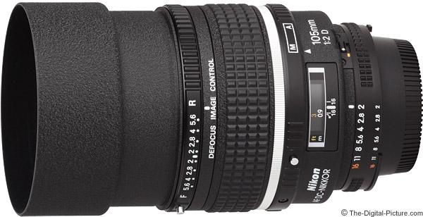 Nikon 105mm f/2D AF DC Lens Product Images