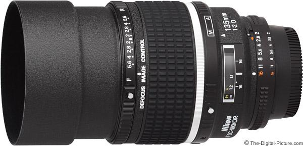 Nikon 135mm f/2D AF DC Lens Product Images