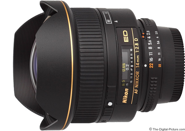 Nikon 14mm f/2.8D AF Lens Product Images