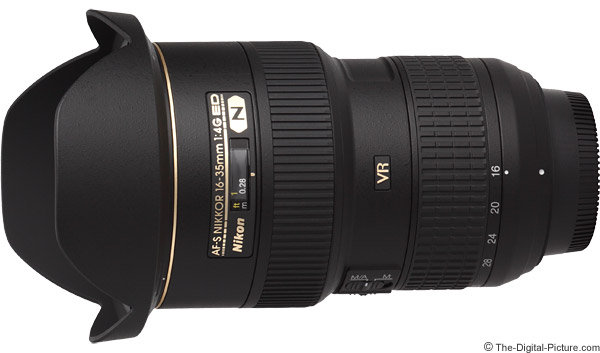 Nikon 16-35mm f/4G AF-S VR Lens Product Images
