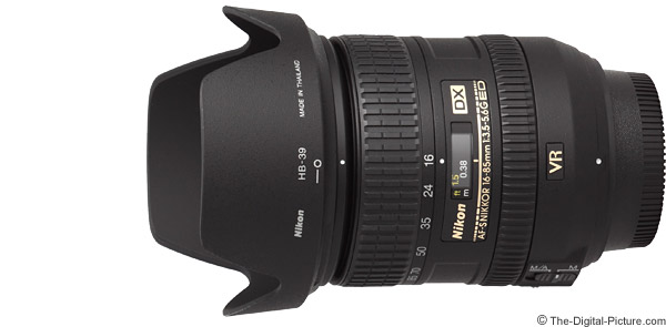 Nikon 16-85mm f/3.5-5.6G AF-S DX VR Lens Product Images