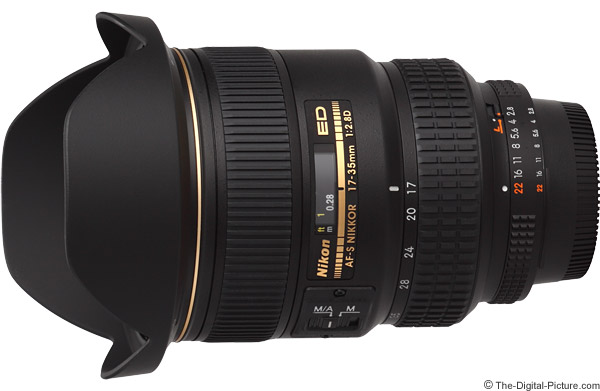 Nikon 17-35mm f/2.8D AF-S Lens Product Images