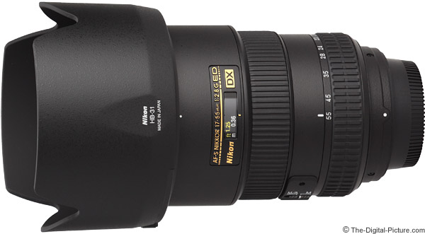 Nikon 17-55mm f/2.8G AF-S DX Lens Product Images