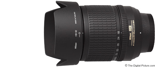 Nikon 18-135mm f/3.5-5.6G AF-S DX Lens Product Images