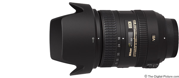 Nikon 18-200mm f/3.5-5.6G AF-S DX VR II Lens Product Images