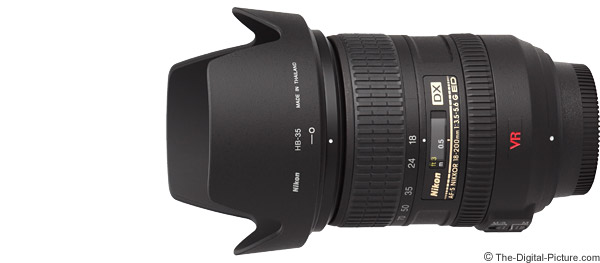Nikon 18-200mm f/3.5-5.6G AF-S DX VR Lens Product Images
