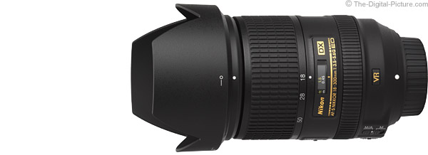 Nikon 18-300mm f/3.5-5.6G AF-S DX VR Lens Product Images