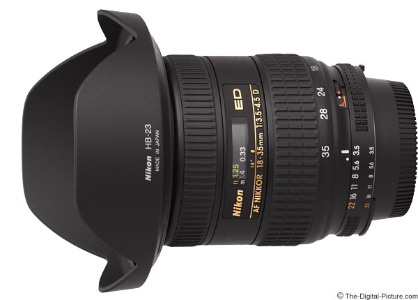Nikon 18-35mm f/3.5-4.5D AF Lens Product Images