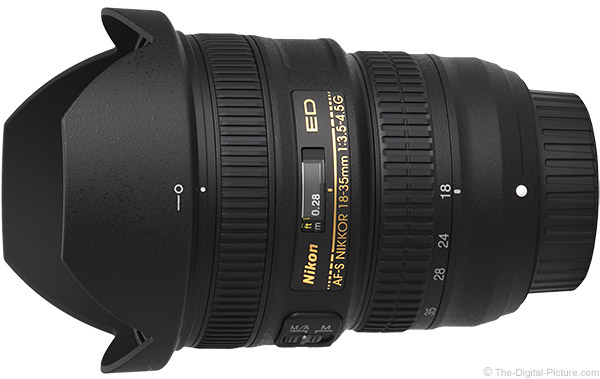 Nikon 18-35mm f/3.5-4.5G AF-S Lens Product Images