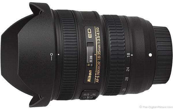 Nikon 18-35mm f/3.5-4.5G AF-S Lens Product Images
