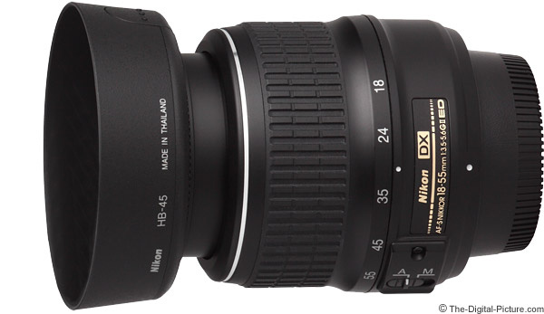Nikon 18-55mm f/3.5-5.6G II AF-S DX Lens Product Images