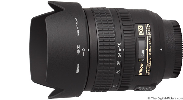 Nikon 18-70mm f/3.5-4.5G AF-S DX Lens Product Images