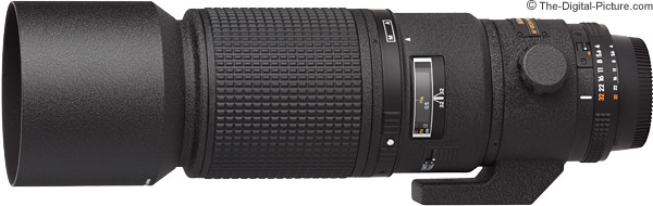 Nikon 200mm f/4D AF Micro Lens Product Images