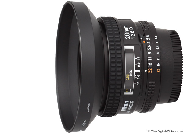 Nikon 20mm f/2.8D AF Lens Product Images