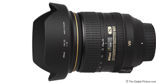 Nikon 24-120mm f/4G AF-S VR Lens Product Images