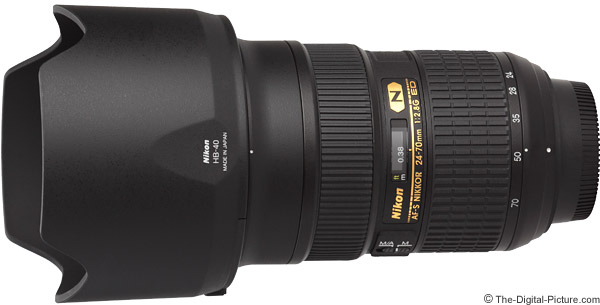 Nikon 24-70mm f/2.8G AF-S Lens Product Images
