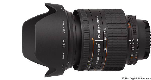Nikon 24-85mm f/2.8-4D AF Lens Product Images