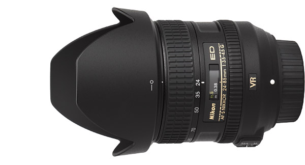 Nikon 24-85mm f/3.5-4.5G AF-S VR Lens Product Images