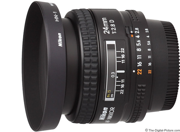Nikon 24mm f/2.8D AF Lens Product Images