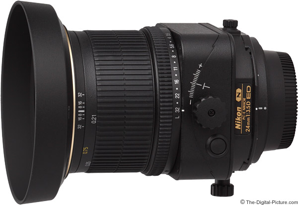 Nikon 24mm f/3.5D PC-E Lens Product Images